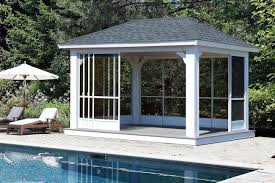 Wooden Screen Gazebos by Wood Pavilions Lykens Valley Gazebos And Outdoor Living Products