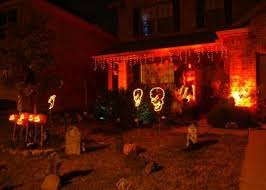 christmas light ideas for halloween