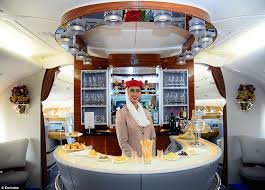 Airbus A 380 Interior Emirates New Airbus A380 Has A Capacity Of 615 Passengers Daily