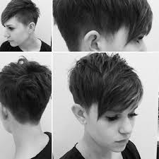 side and front view short pixie haircuts kurzehaare kurzhaarfrisuren kurze haare go shorter hair