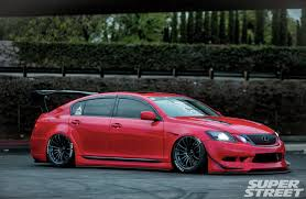 toyota lexus sedan 2006 lexus gs430 buddah concept designs custom widebody fenders