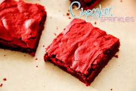 red velvet brownies a perfect holiday treat reality daydream
