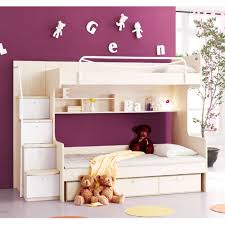 Bedroom Charming Wood Bunk Beds With Stairs And Drawers Plus - Kids bunk beds sydney