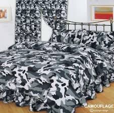Camo Duvet Cover Army Camouflage Complete Bedding Set From Century Textiles