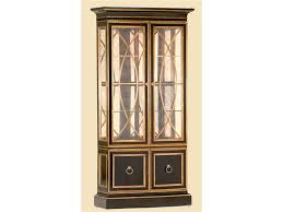 marge carson living room borghese display cabinet hickory