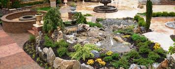long island water features pool landscaping waterfalls ny