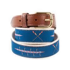 preppy ribbon belts sweep and oars ribbon belt knot clothing belt co