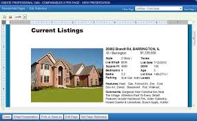 real estate listing template listing presentation real estate template creating a cma or