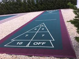 Backyard Basketball Court Ideas by Indoor U0026 Outdoor Shuffleboard Court Builder Free Quote Nj Ny Pa Md