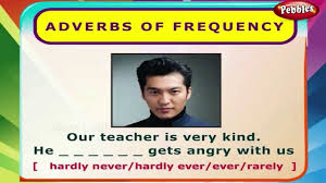 adverbs of frequency english grammar exercises for kids
