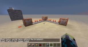 Minecraft Pe How To Download Maps How To Create Dialogue Adventure Map Command Block Tutorial