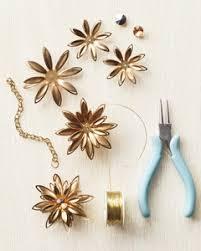 flower and gem ornaments martha stewart