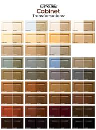 rustoleum kitchen cabinet paint rust oleum cabinet transformations color swatches both