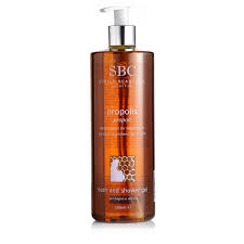 sbc propolis bath u0026 shower gel 500ml page 1 qvc uk