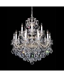 simple schonbek crystal chandeliers about modern home interior