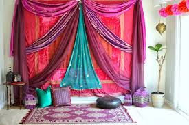 Indian Engagement Decoration Ideas Home Diy Ideas For Walls Indian Sarees Saree And Spaces