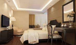 decorations modern bedroom ceiling designs with smart lighting