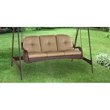 Azalea Ridge Patio Furniture Replacement Cushions Replacement Canopy For Azalea Ridge Three Person Swing Beige