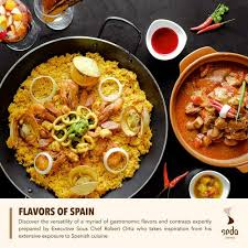 word for cuisine seda centrio hotel presents flavors of spain dinner buffet at