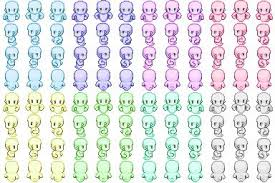 ghost sprite sheet rpgmaker net game making resources