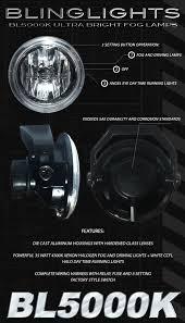 3 inch fog light kit 3 inch motorcycle fog driving lights lamps w white halo ccfl kit