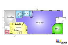Modular Floor Plan Floor Plan For Nursing Home Daycare Floor Plans Crtable