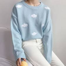 cloud sweater buy dute cloud sweater yesstyle