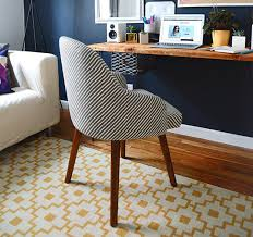 West Elm Office Desk Sg At Home My Office Makeover Style