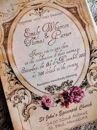 vintage wedding invites vintage wedding invitations marialonghi