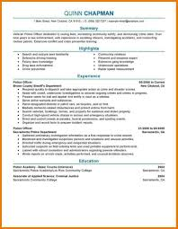 example of federal law enforcement resume cover letter for