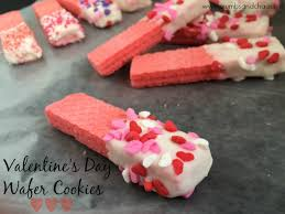 valentines day cookies s day wafer cookies crumbs and chaos