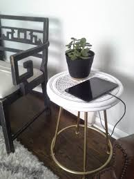 Charging Station End Table by Lilly U0027s Home Designs Tables Tops And Toppings