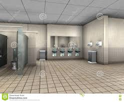 public bathroom restroom illustration stock illustration image