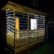 aleko 150 led net mesh string lights white