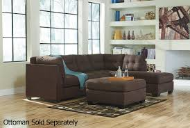 sofa club los angeles maier brown fabric sectional sofa steal a sofa furniture outlet