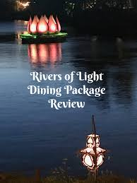 rivers of light dining package the rivers of light dining package a review