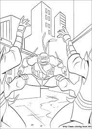 mutant ninja turtles coloring picture