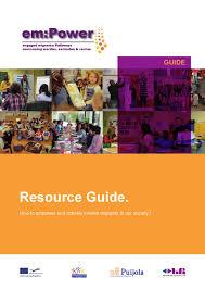 grundtvig em power resource guide en by gemeinsam leben und