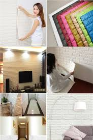 visit to buy diy 3d wall stickers art brick self adhesive