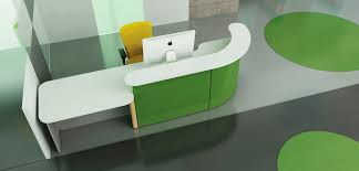 Laminate Reception Desk Reception Desk Made By Lifetime Wpc Pvc Boards