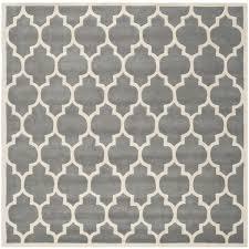 safavieh handmade moroccan dark grey geometric pattern wool rug 8