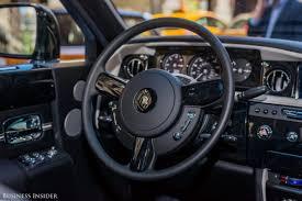 rolls royce steering wheel we drove the 500 000 rolls royce phantom and saw how it u0027s