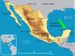 Huatulco Mexico Map by What Is The Yucatan Peninsula On The Map Of Mexico