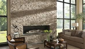 wandgestaltung mit naturstein natursteinwand im wohnzimmer die natur zu hause empfangen
