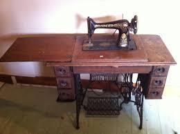 Singer Sewing Machine Desk Vintage Singer Sewing Machine U0026 Table U2013 40 Reduced Vintagewares