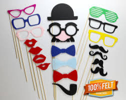 Props For Photo Booth Wedding Photo Booth Props 40 Piece Felt Premium Photobooth