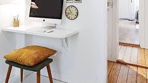 coin bureau dans salon un bureau déco meubles idées astuces conseils côté maison