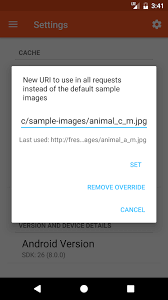 android uri supported uris fresco