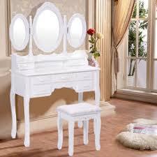 Wicker Vanity Set White Wicker Vanity Table
