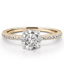 gold diamond rings gold diamond rings dainty engagement ring diana engagement